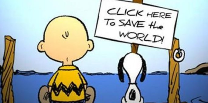 click here to save the world